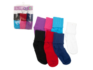 Colored Bobby Socks Pack (Girls size 4-10)