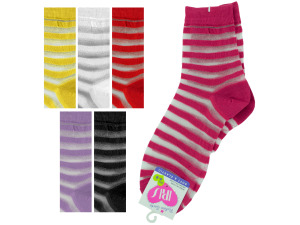 High Cut Striped Socks
