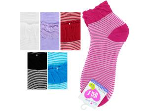 Mid Cut Striped Socks
