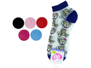 Low cut bears 6-8 socks