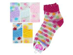 Mid Cut Flowers Socks