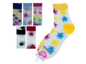 High Cut Star Pattern Socks