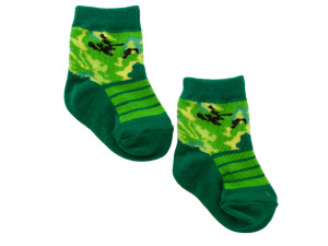 Camo Baby Socks Set for 0-12 Months
