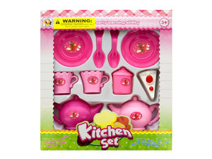 Wholesale: Kitchen Tea Time Play Set