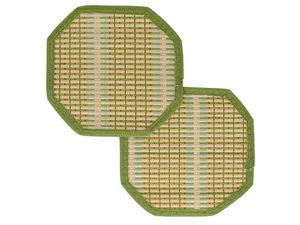 Bamboo Hot Pads Set