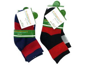 Kid's Crew Design Socks Size 2 - 4