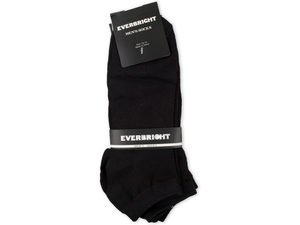 Men's Black No Show Socks 1 Pair