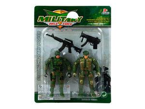 Wholesale: 4 Piece Soldier Action Figure Set