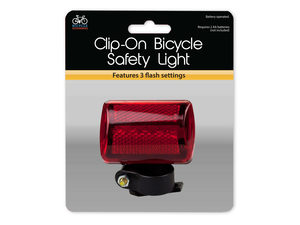 Clip-On Bicycle Safety Light
