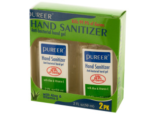 Wholesale: Hand Sanitizer Gel with Aloe & Vitamin E