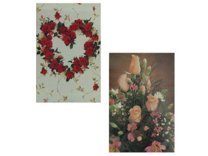 Wholesale: Large size gift boxes with designs, pack of 2 assorted