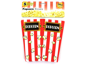 Wholesale: Individual Serving Popcorn Boxes