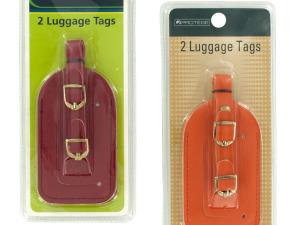 Wholesale: Vinyl Luggage Tags Set