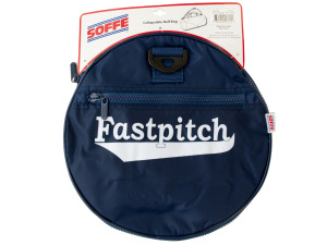Navy Blue Fastpitch Collapsible Roll Bag