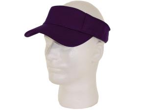 Boys adj mesh visor purpl