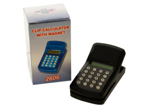 Wholesale: Clip Calculator with Magnet