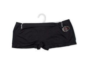Wholesale: Women's Large Black Seamless Underwear Boy Cut Shorts