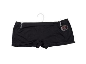 Wholesale: Black Seamless Underwear Boy Cut Shorts Medium