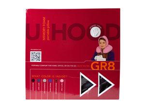 Wholesale: U-HOOD Portable Memory Foam Pillow in Burgundy