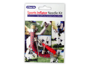 Wholesale: Sports Inflator Needle Kit