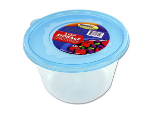 6 Cup storage container