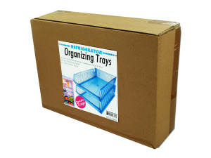Refrigerator helper trays, pack of 2
