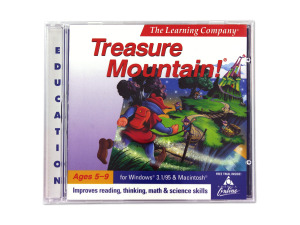 Wholesale: The Learning Company Treasure Mountain PC game