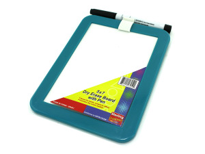Small dry erase board with marker