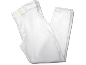 White baseball pant xl
