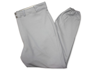 Gray baseball pant large