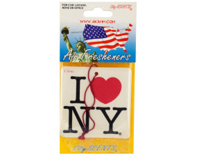Wholesale: New York Air Freshener