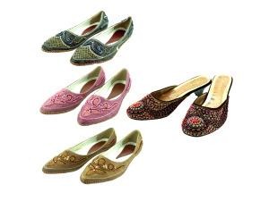 Wholesale: Beaded shoe assortments