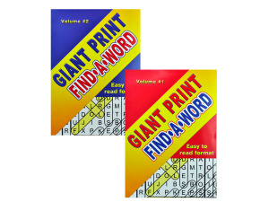 Wholesale: Giant print find a word book