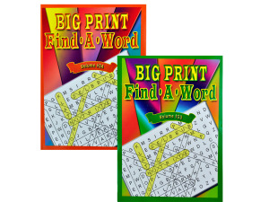 Wholesale: Big Print Find-a-Word Puzzle Book