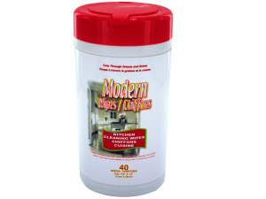 Wholesale: 40pk kitchen clean wipes