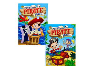 Wholesale: Petey and His Pirate Pals Coloring Book