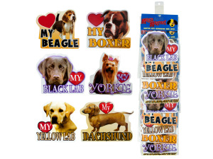 Wholesale: Dog magnets assorted