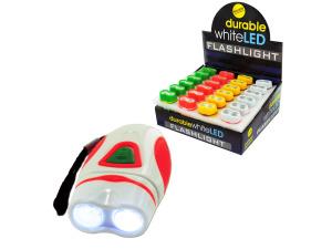 Durable Mini LED Flashlight Countertop Display