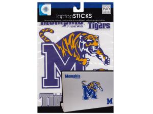 Memphis Tigers Removable Laptop Stickers