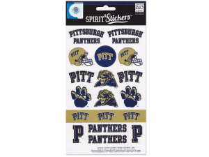 Pittsburgh Panthers Spirit Stickers