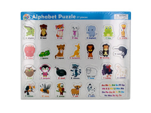 Wholesale: 27 piece alphabet puzzle