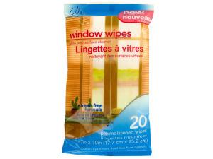 Wholesale: Window Wipes