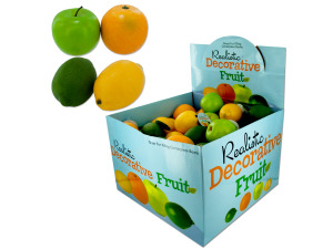 Wholesale: Realistic Decorative Fruit Counter Top Display