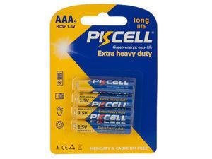 Wholesale: PKCELL Heavy Duty AAA Batteries