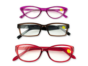 Wholesale: Cheetah Reader Assorted Reading Glasses Display