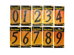 Wholesale: Black Metal House Number