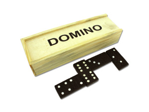 Wholesale: Domino Set in Wooden Box