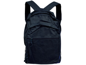 Navy Blue Backpack With Storage Pockets