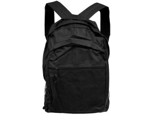 Black Backpack With Multiple Storage Pockets