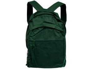 Jade Green Backpack With Storage Pockets